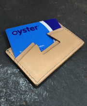 EAT DUST LEATHER CARD HOLDER