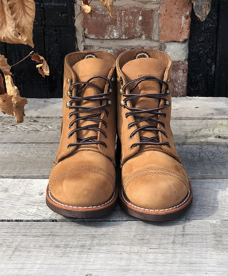 RED WING LADIES 3367 IRON RANGER IN HONEY