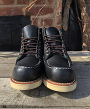 "Redwing Ladies 3373 6"" Moc Toe in Black"