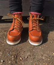 "RED WING LADIES 3375 6"" MOC TOE ORO LEGACY"