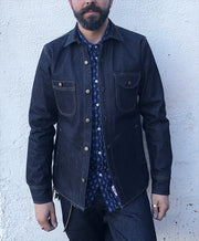 ROGUE TERRITORY 15oz PROPRIETARY DENIM SERVICE JACKET