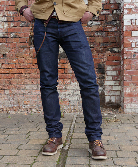 THE CALLUM 16.5OZ NIGON MENOU JAPANESE SELVEDGE JEANS