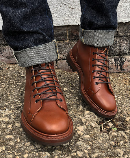 Mens  Marlon Antique Lace up Boots STYLE: M6259
