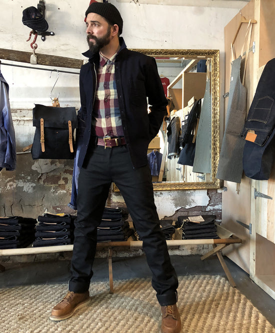 3SIXTEEN CT-220X - CLASSIC TAPERED DOUBLE BLACK SELVEDGE JEAN
