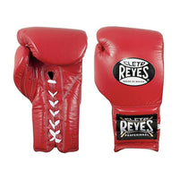Cleto Reyes Boxhandschuhe Sparring Rot, geschnührt