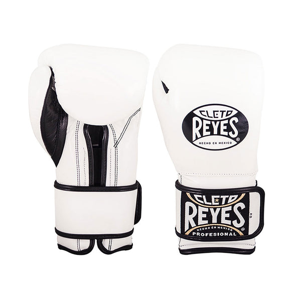Cleto Reyes Boxhandschuhe Sparring Weiss