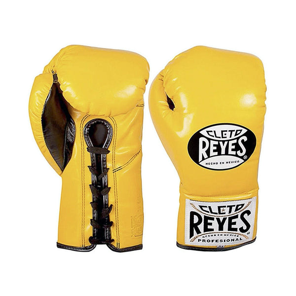 "Cleto Reyes Boxhandschuhe ""Traditional Contest"", Gelb"