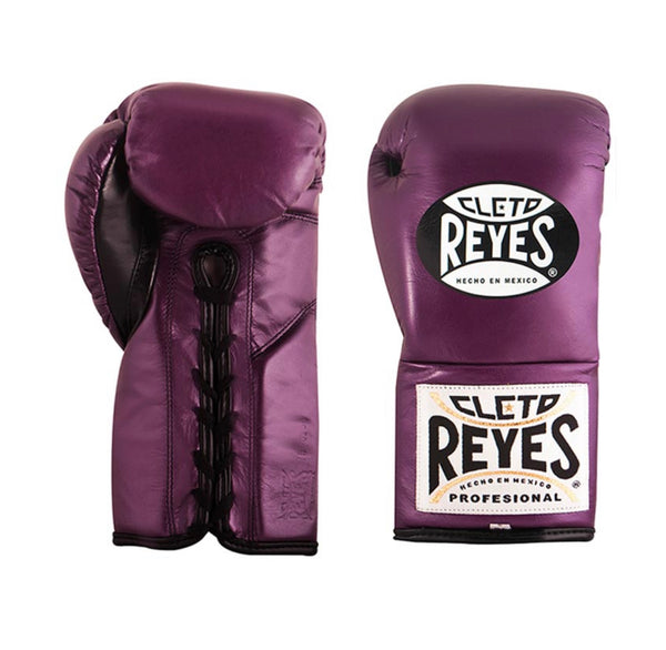 "Cleto Reyes Boxhandschuhe ""Traditional Contest"", Purple"