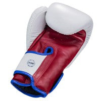 King Pro Boxing Boxhandschuhe Star Weiss/Rot