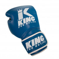 King Pro Boxing Boxhandschuhe Star Blau/Weiss