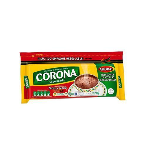 Corona Chocolate Cloves & Cinnamon (250g Pack x 20 units) - BOX - Chatica