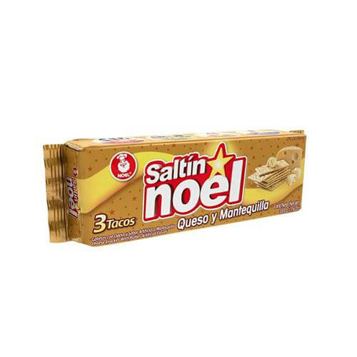 Noel Saltin Crackers Queso Mantequilla (385g pack)