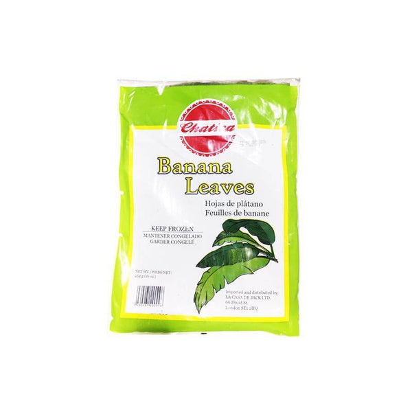 Chatica Plantain Leaves (500g pack)