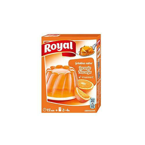 Royal Gelatina Naranja (170g pack) - Chatica