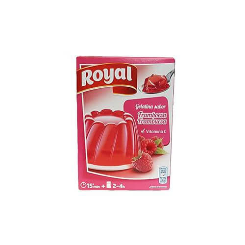 Royal Gelatina Frambuesa (170g pack)