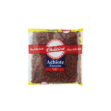 "Chatica Ground ""Achiote"" - Annatto Seeds (100g pack)"