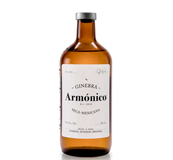 Armonico Mexican Gin 50% Alcohol- Ginebra Seca - 500ml - Chatica