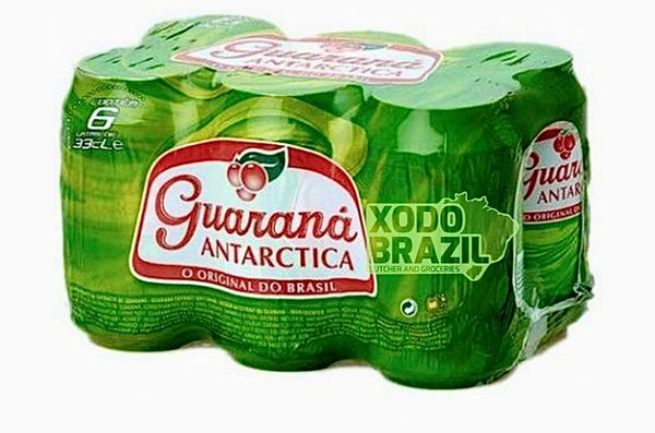 Guarana Antarctica 6 cans 330ml - Chatica