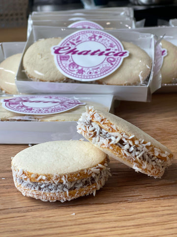 Alfajores luxury large biscuits | made with dulce de leche | pack of 2