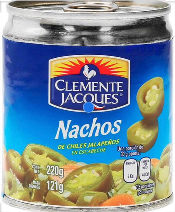 Jalapeños Chillies nacho slices 220g - Chatica