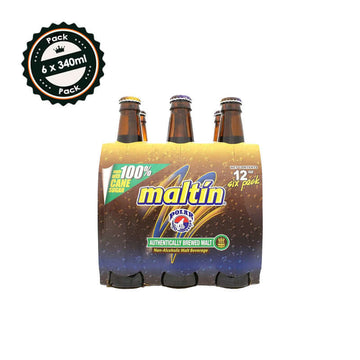 Maltin Polar (6 x 340ml bottle)