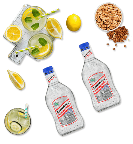 2 Bottles Antioqueño Aguardiente Sugar Free (700ml)
