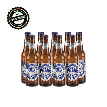 BOX Polar Beer - 4 bottles (354 ml)