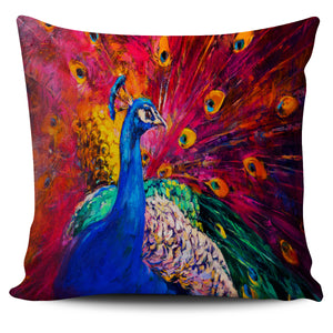 Colourful Peacock Pillow Case | beddingkings