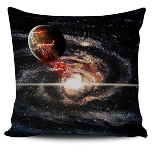 Galaxy On Dark Background Image Pillow Case | beddingkings