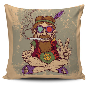 Relaxed Hippie Design Pillow Case | beddingkings