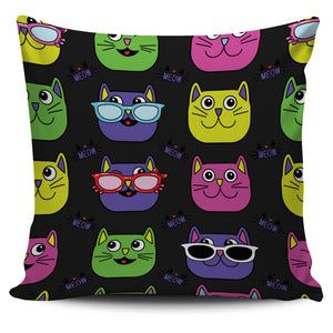 Cool Cats Image Pillow Case | beddingkings