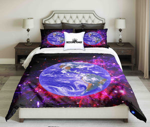 View Of the Earth from Space Bedding Set | beddingkings