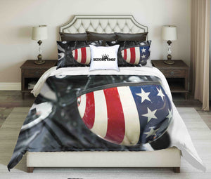 USA Flag Helmet Bedding Set | beddingkings