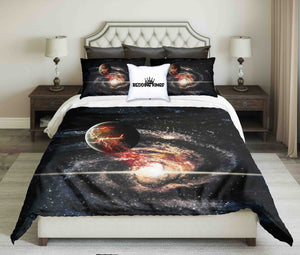 Planet Explosion Design Bedding Set | beddingkings