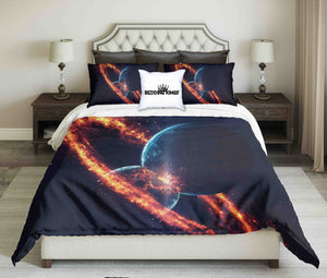 Beauty Of Deep Space Design Bedding Set | beddingkings
