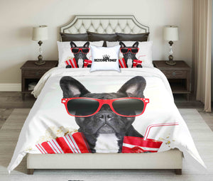 Cool  French Buldog  Design Bedding Set | beddingkings