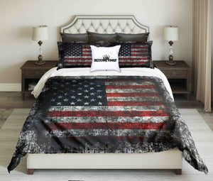 Vintage Design USA Fag Bedding Set | beddingkings