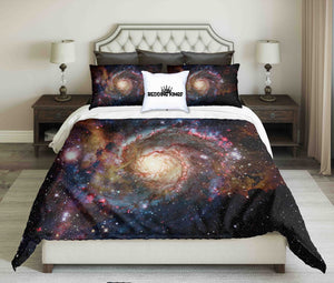 Galaxy And Nebula Design Bedding Set | beddingkings