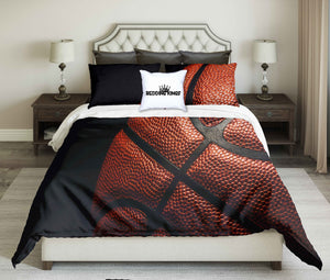 Basketball In Background Bedding Set | beddingkings