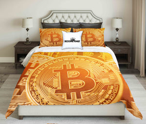 Bitcoin DesignBedding Set | beddingkings