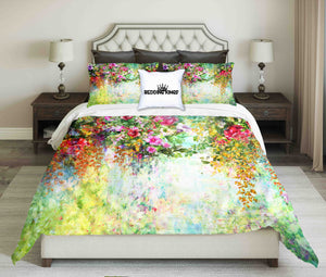 Bright Floral Bedding Set | beddingkings