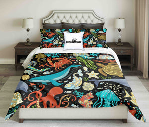 Ocean Design Bedding Set | beddingkings