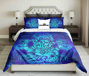 Blue Elephant Bedding Set | beddingkings