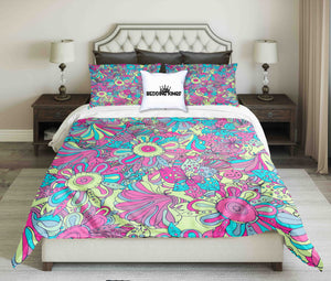 Colourful Flowers Bedding Set | beddingkings