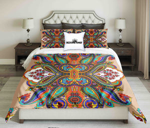 Bright Colour Design Bedding Set | beddingkings