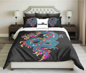 Dragon Design Bedding Set | beddingkings