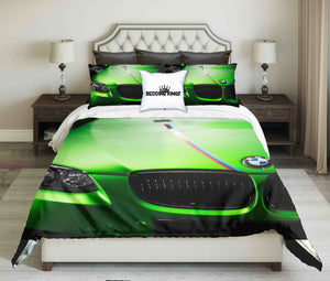 Apple Green Bmw Bedding set | beddingkings