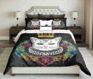 Queen Cat Luxury Bedding Set | beddingkings