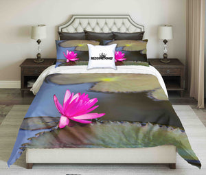 Water Lily Design Bedding Set | beddingkings