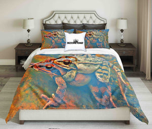 Frogs in Water Bedding Set | beddingkings